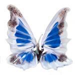 Glass Butterfly Admiral Blue, fig. 1