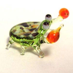 Crab glass figurine