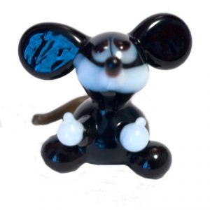 Glass Mickey Mouse Figurine, fig. 1