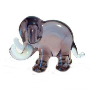 Violet Elephant Figurine, fig. 1