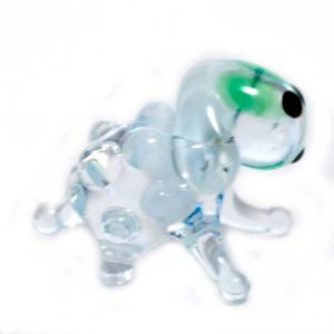 Sheep glass figurine