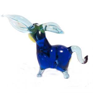 Glass Jolly Blue Donkey, fig. 3