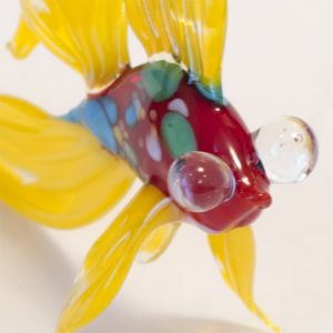 Glass Yellow Fish Figure, fig. 2