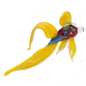Glass Yellow Fish Figure, fig. 3