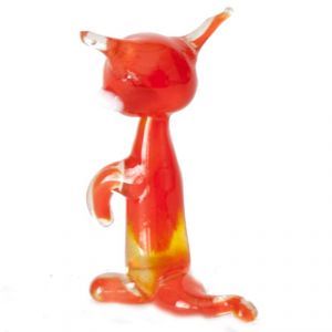 Glass Fox Figure