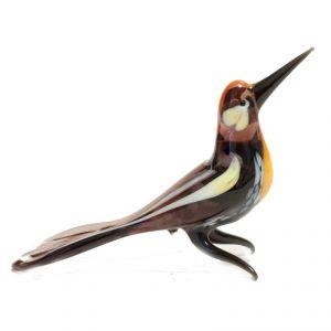 Glass Woodpecker Figurine, fig. 1