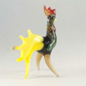 Glass Brave Rooster