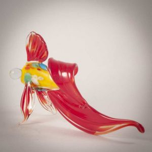 Glass Red Fish Figure, fig. 2