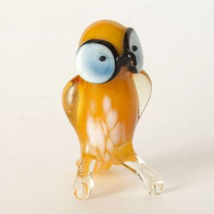 Glass Yellow Owl, fig. 1