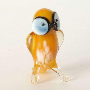 Glass Owl Figurine