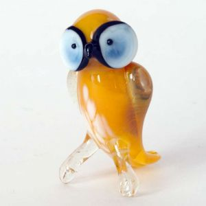 Glass Yellow Owl, fig. 2