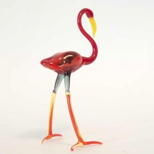 Glass Flamingo