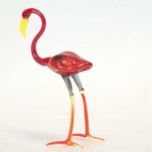 Glass Flamingo Figure, fig. 3