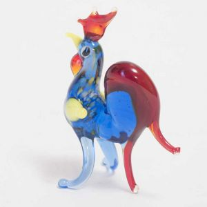 Glass Rooster Miniature, fig. 3