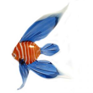 Stripped Blue Fish Figure, fig. 1