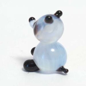 Glass Panda Miniature