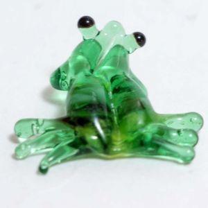 Frog Glass Miniature