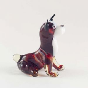 Glass Chihuahua Figure