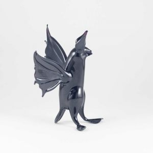 Hand Blown Glass Bat, fig. 3