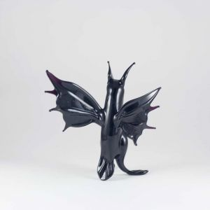 Hand Blown Glass Bat, fig. 4
