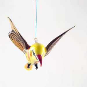 Oriole Glass Hanging Ornament, fig. 3