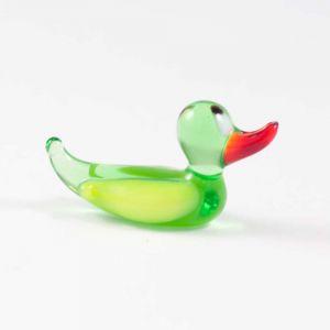 Glass Duck Miniature Figurine, fig. 1