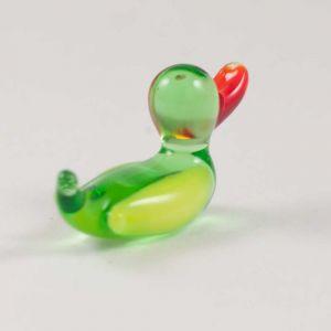 Glass Duck Miniature Figurine, fig. 2