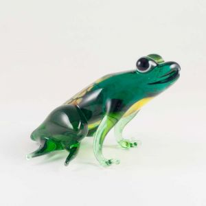Glass Green Sitting Frog, fig. 2