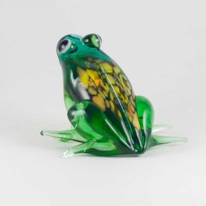 Glass Green Sitting Frog, fig. 4