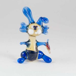 Rabbit Glass Figure