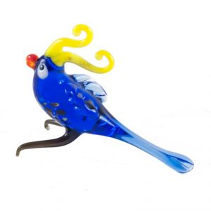 Glass Blue Parrot, fig. 1