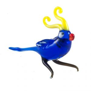 Glass Blue Parrot, fig. 2