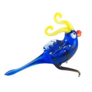 Glass Blue Parrot, fig. 3