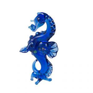 Glass Sea Horse Figure