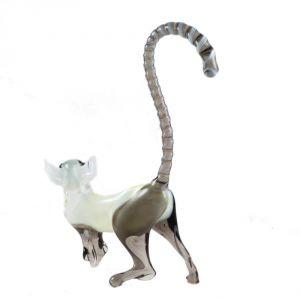 Lemur glass figurine