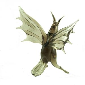 Bat Glass Figurine