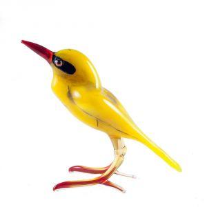 Glass Oriole Blown Figurine, fig. 1