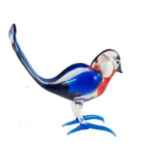 Bullfinch glass figurine