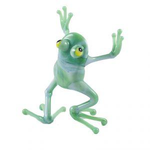 Dancing Frog Glass Figure, fig. 1