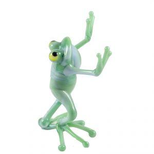 Dancing Frog Glass Figure, fig. 2