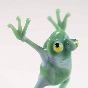 Dancing Frog Glass Figure, fig. 4