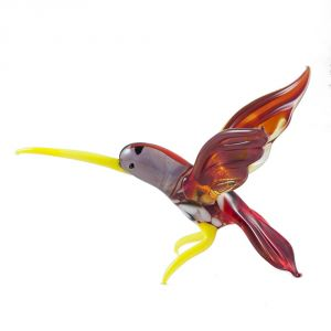 Hummingbird with Orage Wings, fig. 1