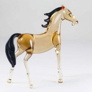 Bay Horse Glass Figure, fig. 2