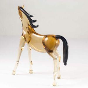 Bay Horse Glass Figure, fig. 3