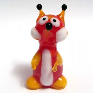 Blown Glass Fox Figurine, fig. 3