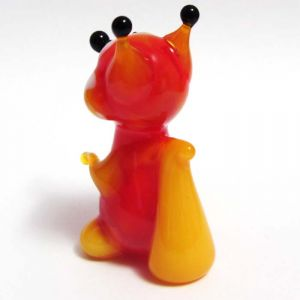 Blown Glass Fox Figurine, fig. 2