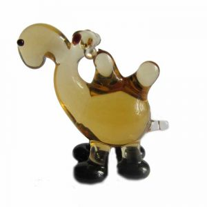 Camel glass figurine