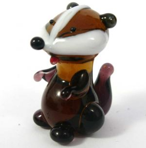 Blown Glass Hamster Figure, fig. 1